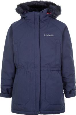 Куртка пуховая для девочек Columbia Boundary Bay, размер 150-157