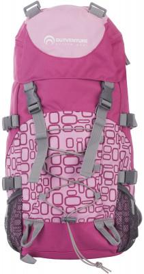 Рюкзак Outventure BunnyУдобный детский рюкзак объемом 18 литров пригодится в походах.<br>Объем: 18; Вес, кг: 0,6; Размеры (дл х шир х выс), см: 48 x 20 x 15; Материал верха: 100 % полиэстер; Материал подкладки: 100 % полиэстер; Количество отделений: 1; Число лямок: 2; Нагрудный ремень: Есть; Верхний клапан: Есть; Поясной ремень: Есть; Вентилируемые лямки: Есть; Боковые стяжки: Есть; Боковые карманы: Есть; Крепление для палок: Есть; Вид спорта: Походы; Срок гарантии: 2 года; Производитель: Outventure; Артикул производителя: B01881; Страна производства: Китай; Размер RU: Без размера;