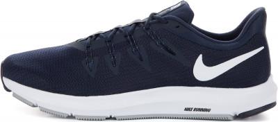 Кроссовки мужские Nike Quest, размер 45Кроссовки <br>Надежные и легкие кроссовки nike quest - отличный выбор для пробежки по улице. Модель подойдет дял нейтральной пронации стопы.