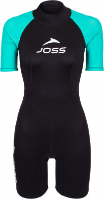 Гидрокостюм женский Joss, 1,5 мм, размер 44Гидрокостюмы<br>Женский гидрокостюм с коротким рукавом толщиной 1, 5 мм предназначен для теплой воды. Модель рассчитана на средний уровень подготовки.