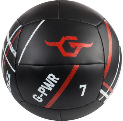 Медицинбол Grozz 7 кгТренировочный мяч, прекрасно подойдет для занятий фитнесом, аэробикой, лечебной физкультурой, используется для занятий кроссфитом.<br>Производитель: Grozz; Артикул производителя: GMD7; Страна производства: Россия; Диаметр: 26 см; Вес, кг: 7; Вид спорта: Кардиотренировки, Фитнес; Размер RU: Без размера;