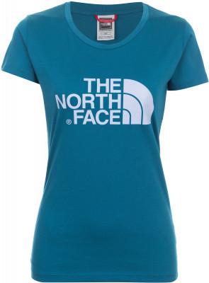 Футболка женская The North Face EasyФутболка из натуральных материалов от the north face - отличный выбор для активного отдыха на природе. Комфортная посадка приталенный крой обеспечивает удобную посадку.<br>Пол: Женский; Возраст: Взрослые; Вид спорта: Походы; Защита от УФ: Нет; Покрой: Приталенный; Светоотражающие элементы: Нет; Дополнительная вентиляция: Нет; Материалы: 100 % хлопок; Производитель: The North Face; Артикул производителя: T0C256; Страна производства: Македония; Размер RU: 46;