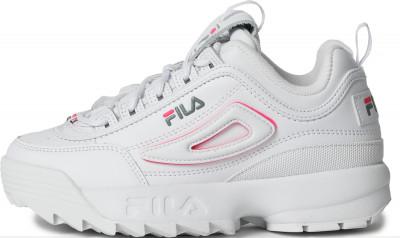 Кроссовки для девочек Fila Disruptor Ii Logo Reveal, размер 34,5