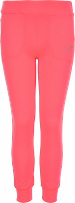 Брюки для девочек Demix, размер 110Брюки <br>Удобные брюки demix для самых маленьких поклонниц фитнеса. Свобода движений прямой крой гарантирует комфортную посадку и полную свободу движений.