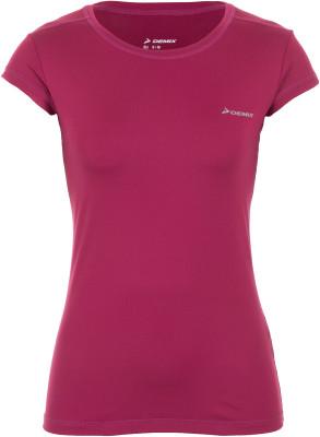 Футболка женская Demix, размер 42Футболки<br>Удобная и практичная футболка demix подойдет для пробежек. Отведение влаги ткань, выполненная по технологии movi-tex, эффективно отводит влагу.