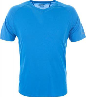 Футболка мужская Saucony Freedom V-Necke AsterКомфортная футболка для занятий бегом. Дополнительная вентиляция в модели предусмотрена дополнительная вентиляция.<br>Пол: Мужской; Возраст: Взрослые; Вид спорта: Бег; Защита от УФ: Нет; Покрой: Свободный; Светоотражающие элементы: Да; Дополнительная вентиляция: Да; Материалы: 83 % полиэстер, 11 % тенцель, 6 % спандекс; Производитель: Saucony; Артикул производителя: SA81191-BA; Страна производства: Филиппины; Размер RU: 46-48;