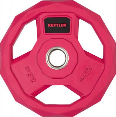 Блин стальной обрезиненный Kettler 2,5 кг