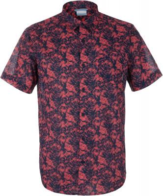 Рубашка мужская Columbia Under Exposure IIМужская рубашка с коротким рукавом подойдет для летних путешествий и поездок на природу. Практичность в модели предусмотрен накладной нагрудный карман.<br>Пол: Мужской; Возраст: Взрослые; Вид спорта: Путешествие; Покрой: Прямой; Количество карманов: 1; Застежка: Пуговицы; Материал верха: 100 % хлопок; Производитель: Columbia; Артикул производителя: 1577751464XXL; Страна производства: Индия; Размер RU: 56-58;
