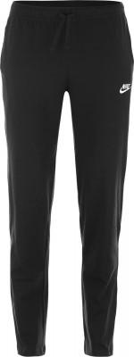 Брюки мужские Nike SportswearЛаконичные мужские брюки nike sportswear для образа в спортивном стиле. Натуральные материалы брюки выполнены из мягкой и гипоаллергенной хлопковой ткани.<br>Пол: Мужской; Возраст: Взрослые; Вид спорта: Спортивный стиль; Силуэт брюк: Прямой; Количество карманов: 3; Производитель: Nike; Артикул производителя: 804421-010; Страна производства: Камбоджа; Материал верха: 100 % хлопок; Размер RU: 44-46;