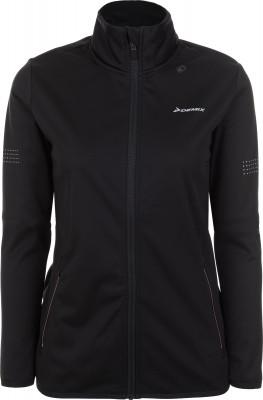 Куртка женская Demix, размер 44Куртки <br>Куртка от demix - это удобный вариант для пробежки на свежем воздухе. Защита от непогоды воротник-стойка защищает шею от холода и ветра.