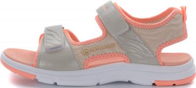 Сандалии для девочек Outventure Cosmos, размер 34Сандалии <br>Сандалии для дошкольников и детей школьного возраста с текстильным верхом - удачный вариант для путешествий.