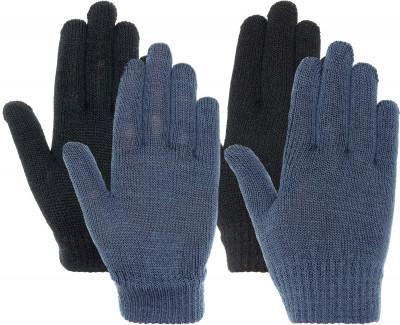 Перчатки для мальчиков IcePeakКомплект их 2-х пар вязанных перчаток icepeak предназначены для путешествий и активного отдыха.<br>Пол: Мужской; Возраст: Дети; Вид спорта: Путешествие; Защита от ветра: Нет; Работа с сенсорным экраном: Нет; Дополнительная вентиляция: Нет; Производитель: IcePeak; Артикул производителя: 52855300XV; Страна производства: Китай; Материал верха: 95 % полиакрил, 5 % эластан; Размер RU: Без размера;