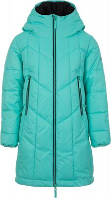 Куртка утепленная для девочек Demix, размер 140Куртки <br>Практичная детская куртка в спортивном стиле от demix. Сохранение тепла синтетический утеплитель весом 200 г м2 согреет в холодную погоду.