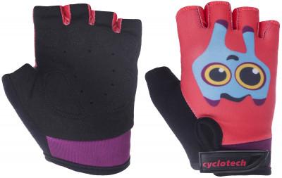 Перчатки велосипедные детские Cyclotech SummerДетские велосипедные перчатки не дают рукам скользить на руле. Особенности модели: гасят неприятные вибрации комфортная посадка.<br>Возраст: Дети; Пол: Женский; Размер: 5; Материал верха: 45 % искусственная кожа, 45 % эластан, 10 % неопрен; Тип фиксации: Резинка; Производитель: Cyclotech; Артикул производителя: SUMM-B-XXS; Страна производства: Пакистан; Размер RU: 5;