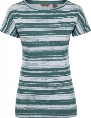 Футболка женская Outventure, размер 54Футболки<br>Интересная футболка от outventure - то что нужно для прогулок и путешествий. Натуральные материалы приятная на ощупь ткань выполнена из натурального хлопка.
