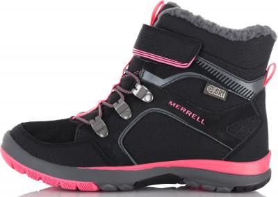 Ботинки утепленные для девочек Merrell M-Moab Fst Polar Mid A/C Wtrpf, размер 37,5Ботинки и сапоги <br>Удобные и теплые ботинки для девочек от merrell - оптимальный выбор для зимнего туризма. Сохранение тепла в модели использован технологичный утеплитель m select warm.
