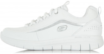 92e118a9fbb6 Кроссовки женские Skechers SYNERGY 2.0 белый серебристый цвет ...
