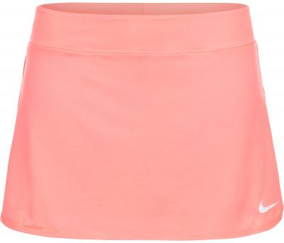 Юбка-шорты для тенниса женская Nike PureЖенская юбка для тенниса от nike подарит комфорт и свободу движений на корте. Отведение влаги ткань с технологией nike dri-fit эффективно отводит влагу от кожи.<br>Пол: Женский; Возраст: Взрослые; Вид спорта: Теннис; Внутренние шорты: Да; Материал верха: 81 % полиэстер, 19 % эластан; Технологии: Nike Dri-FIT; Производитель: Nike; Артикул производителя: 728777-676; Страна производства: Камбоджа; Размер RU: 42-44;