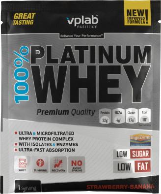 Протеин Vplab nutrition, клубника и банан