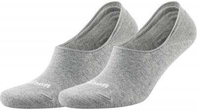 Носки Wilson Invisible, 2 парыНоски для занятий спортом от wilson, которые обеспечивают поддержку свода стопы. Благодаря низкой посадке, носки не видно над обувью.<br>Пол: Мужской; Возраст: Взрослые; Вид спорта: Спортивный стиль; Производитель: Wilson; Артикул производителя: W581-H; Страна производства: Китай; Материалы: 66 % хлопок, 24 % полиэстер, 7 % нейлон, 3 % эластан; Размер RU: 43-46;