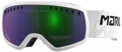 Маска детская Marker 4:3Детская маска marker 4: 3 для катания на горных лыжах в солнечные дни. Защита от царапин благодаря специальному покрытию линза устойчива к появлению царапин.<br>Пол: Мужской; Возраст: Дети; Вид спорта: Горные лыжи; Погодные условия: Солнце; Защита от УФ: Да; Цвет основной линзы: Зеленый; Поляризация: Нет; Вентиляция: Да; Покрытие анти-фог: Да; Совместимость со шлемом: Да; Сменная линза: Опционально; Материал линзы: Поликарбонат; Материал оправы: Полиуретан; Конструкция линзы: Двойная; Форма линзы: Сферическая; Возможность замены линзы: Есть; Производитель: Marker; Артикул производителя: 168311.00.24.1; Срок гарантии: 1 год; Страна производства: Тайвань; Размер RU: Без размера;