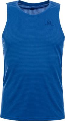 Футболка без рукавов мужская Salomon Agile, размер 50-52Мужская одежда<br>Отличный выбор для пробежек в жаркие летние дни - футболка без рукавов salomon agile.