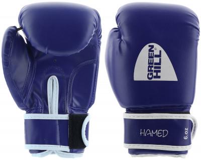 Перчатки боксерские детские Green Hill HamedПрочные боксерские перчатки со специальным уплотнителем предназначены для тренировок.<br>Вес, кг: 6 oz; Тип фиксации: Липучка; Материал верха: Искусственная кожа; Материал наполнителя: Пенополиуретан; Вид спорта: Бокс; Производитель: Green Hill; Артикул производителя: BGHC-2022; Срок гарантии: 3 месяца; Страна производства: Пакистан; Размер RU: 6 oz;
