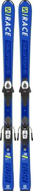 Горные лыжи детские + крепления Salomon S/RACE RUSH Jr + L6 GW