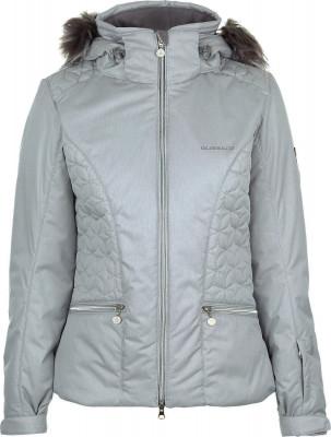 Куртка утепленная женская Glissade, размер 46Куртки <br>Утепленная женская куртка для катания на горных лыжах от glissade. Водонепроницаемая мембрана мембрана isodry защищает от промокания и обеспечивает оптимальный микроклимат.