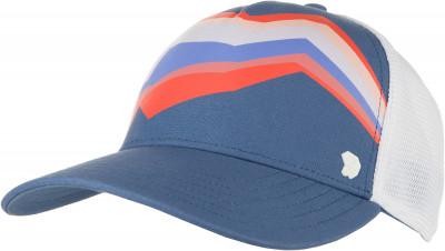 Бейсболка женская Mountain Hardwear NuptuneГоловные уборы<br>Бейсболка-тракер nuptune trucker hat от mountain hardwear защитит голову от перегрева в солнечный день. Вставки из сетчатой ткани для хорошего воздухообмена.