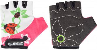 Перчатки велосипедные детские Cyclotech Butterfly