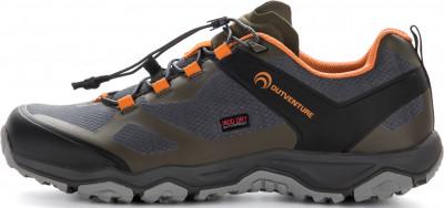 Полуботинки мужские Outventure Kernel Tech, размер 41Полуботинки<br>Водонепроницаемые полуботинки outventure для походов по техничным маршрутам. Модель подходит для любой погоды.