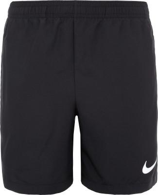 Шорты для мальчиков Nike, размер 128-137Шорты<br>Детские шорты для матчей и тренировок от nike, дизайн которых был вдохновлен футбольными победами криштиану роналду.
