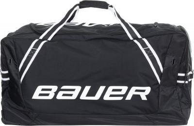 Баул хоккейный Bauer BAUER 850 WHEELСумка от bauer станет отличным выбором для транспортировки и хранения хоккейной экипировки устойчивость к износу модель изготовлена из прочного материала dura hex polyestr п<br>Размеры (дл х шир х выс), см: 94 x 43,2 x 40,6 см; Объем: 170 л; Материалы: 90 % полиэстер, 5 % пластик, 5 % резина; Производитель: Bauer; Вид спорта: Хоккей; Артикул производителя: 1051442; Страна производства: Китай; Размер RU: Без размера;