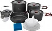 Набор посуды: 3 котелка, сковорода, чайник Fire-Maple FMC-212
