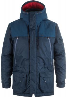 Куртка утепленная мужская OutventureУтепленная куртка от outventure - это универсальная модель для путешествий и долгих прогулок.<br>Пол: Мужской; Возраст: Взрослые; Вид спорта: Путешествие; Вес утеплителя на м2: 250 г/м2; Наличие мембраны: Да; Наличие чехла: Нет; Возможность упаковки в карман: Нет; Регулируемые манжеты: Нет; Водонепроницаемость: 3000 мм; Паропроницаемость: 3000 г/м2/24 ч; Вес утеплителя: 250 г/м2; Температурный режим: До -20; Покрой: Прямой; Дополнительная вентиляция: Нет; Проклеенные швы: Нет; Длина куртки: Длинная; Наличие карманов: Да; Капюшон: Не отстегивается; Количество карманов: 7; Артикулируемые локти: Нет; Застежка: Молния; Технологии: ADD DRY; Производитель: Outventure; Артикул производителя: LMV1035Q52; Страна производства: Китай; Материал верха: 100 % полиэстер; Материал подкладки: 100 % полиэстер; Материал утеплителя: 100 % полиэстер; Размер RU: 52;