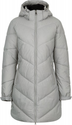 Куртка утепленная женская Luhta GiiaТеплая женская куртка luhta пригодится в путешествиях. Сохранение тепла наполнитель из синтетического пуха (440 г) надежно сохраняет тепло.<br>Пол: Женский; Возраст: Взрослые; Вид спорта: Путешествие; Вес утеплителя на м2: 440 г/м2; Длина по спинке: 90 см; Водонепроницаемость: 5000 мм; Паропроницаемость: 5000 г/м2/24 ч; Температурный режим: До -25; Покрой: Приталенный; Дополнительная вентиляция: Нет; Проклеенные швы: Нет; Длина куртки: Длинная; Капюшон: Отстегивается; Мех: Отсутствует; Количество карманов: 2; Водонепроницаемые молнии: Нет; Технологии: Breathable, WaterProof, WindProof; Производитель: Luhta; Артикул производителя: 38405366LV; Страна производства: Китай; Материал верха: 70 % полиамид, 30 % полиэстер; Материал подкладки: 100 % полиамид; Материал утеплителя: 100 % полиэстер; Размер RU: 52;