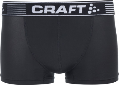 Трусы мужские Craft Greatness Boxer 3-InchМужские трусы из гладкой эластичной ткани. Модель имеет среднюю универсальную длину: 3 дюйма, или 7, 5 сантиметров по внутреннему шву.<br>Пол: Мужской; Возраст: Взрослые; Вид спорта: Спортивный стиль; Материалы: Верх 1: 88 % полиэстер,12 % эластан, верх 2: 95 % полиэстер, 5 % эластан; Производитель: Craft; Артикул производителя: 1905488; Страна производства: Бангладеш; Размер RU: 48-50;