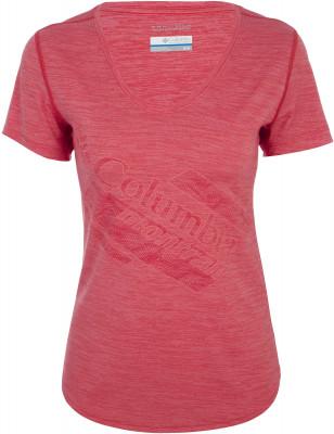 Футболка женская Columbia Trinity Trail 2.0, размер 48Футболки<br>Удобная футболка от columbia - идеальный вариант для прогулок и путешествий. Комфортная посадка эластичная ткань для отличной посадки.
