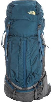 Рюкзак The North Face Fovero 85Вместительный туристический рюкзак fovero объемом 85 литров позволяет взять с собой все необходимое.<br>Объем: 85; Вес, кг: 2,608; Размеры (дл х шир х выс), см: 67 x 38 x 31 см; Материал верха: Нейлон; Материал подкладки: Нейлон; Количество отделений: 1; Число лямок: 2; Нагрудный ремень: Есть; Верхний клапан: Есть; Чехол от дождя: Есть; Поясной ремень: Есть; Доступ в нижнее отделение: Есть; Доступ в боковое отделение: Есть; Вентиляция спины: Есть; Вентилируемые лямки: Есть; Регулировка клапана: Есть; Боковые стяжки: Есть; Боковые карманы: Есть; Фронтальный карман: Есть; Крепление для палок: Есть; Крепление для ледового инструмента: Есть; Вид спорта: Походы; Срок гарантии: 1 год; Производитель: The North Face; Артикул производителя: T0CWT5-EQJ; Страна производства: Вьетнам; Размер RU: Без размера;