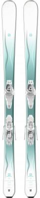 Горные лыжи женские Salomon Kiana + E Lithium 10 W L80
