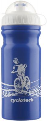 Фляжка велосипедная CyclotechФляжка для крепления на велосипед. Особенности модели: защитная крышка от грязи; объ м 680 мл.<br>Объем: 0,68; Размеры (дл х шир х выс), см: 18 x 7,5 x 7,5; Материалы: Полиэтилен; Вид спорта: Велоспорт; Производитель: Cyclotech; Артикул производителя: CBOT-1B.; Страна производства: Тайвань; Размер RU: Без размера;