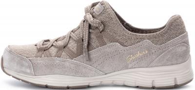 Полуботинки женские Skechers Seager-Zip Line, размер 37Полуботинки<br>Удобные полуботинки с легкой и гибкой подошвой от skechers - идеальная обувь для прогулок по городу.