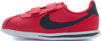 Кроссовки детские Nike Cortez Basic SL, размер 32Кроссовки <br>Кроссовки nike cortez basic sl (gs) выполнены в стиле легендарных беговых моделей от nike. Амортизация подошва из пеноматериала отлично гасит ударные нагрузки.