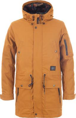Куртка утепленная мужская TermitУтепленная мужская куртка от termit - для тех, кто живет активно. Сохранение тепла в куртке использован синтетический утеплитель весом 80 г м2.<br>Пол: Мужской; Возраст: Взрослые; Вид спорта: Skate style; Наличие мембраны: Нет; Регулируемые манжеты: Да; Вес утеплителя на м2: 80 г/м2; Покрой: Прямой; Дополнительная вентиляция: Нет; Длина куртки: Длинная; Капюшон: Не отстегивается; Количество карманов: 6; Длина по спинке: 95 см; Материал верха: 100 % хлопок; Материал подкладки: 100 % полиэстер; Материал утеплителя: 100 % полиэстер; Производитель: Termit; Артикул производителя: TEJAM01D3S; Страна производства: Китай; Размер RU: 46;