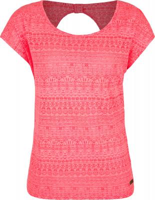 Футболка женская Protest Jersey, размер 44Surf Style <br>Принтованная футболка от protest - превосходный выбор для активного пляжного отдыха. Свобода движений прямой крой не стесняет движения.
