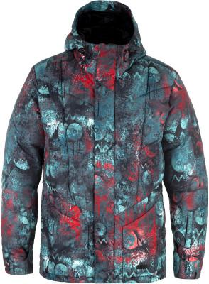 Куртка утепленная мужская TermitУтепленная мужская куртка для сноубординга от termit. Водонепроницаемая мембрана куртка выполнена из дышащей мембранной ткани dry vex, созданной по современным технологиям.<br>Пол: Мужской; Возраст: Взрослые; Вид спорта: Сноубординг; Наличие мембраны: Да; Регулируемые манжеты: Да; Длина по спинке: 80 см; Водонепроницаемость: 3000 мм; Паропроницаемость: 3000 г/м2/24 ч; Защита от ветра: Да; Покрой: Прямой; Дополнительная вентиляция: Да; Проклеенные швы: Нет; Длина куртки: Средняя; Датчик спасательной системы: Нет; Капюшон: Не отстегивается; Мех: Отсутствует; Снегозащитная юбка: Да; Количество карманов: 5; Карман для маски: Да; Карман для Ski-pass: Да; Выход для наушников: Нет; Водонепроницаемые молнии: Нет; Артикулируемые локти: Нет; Совместимость со шлемом: Нет; Технологии: Dryvex; Производитель: Termit; Артикул производителя: TEJAM09J1L; Страна производства: Китай; Материал верха: 100 % полиэстер; Материал подкладки: 100 % полиэстер; Материал утеплителя: 100 % полиэстер; Размер RU: 50;