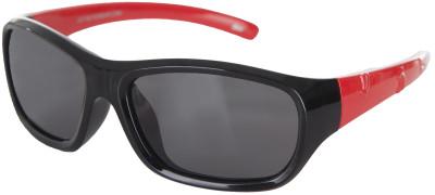 Солнцезащитные очки детские LetoЛегкие и удобные солнцезащитные очки leto с полимерными линзами в пластмассовой оправе.<br>Возраст: Дети; Пол: Мужской; Цвет линз: Серый; Цвет оправы: Черный, красный; Назначение: Детские; Ультрафиолетовый фильтр: Да; Поляризационный фильтр: Да; Зеркальное напыление: Нет; Категория фильтра: 3; Материал линз: Полимер; Оправа: Пластик; Вид спорта: Активный отдых; Производитель: Leto; Артикул производителя: LTS810PA; Срок гарантии: 1 месяц; Страна производства: Китай; Размер RU: Без размера;