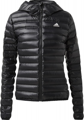 Куртка пуховая женская Adidas Varilite Hooded, размер 52-54