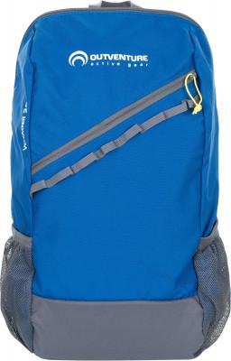 Outventure Voyager 22Практичный мультиспортивный рюкзак объемом 22 литра от outventure. Функциональность фронтальный и два боковых кармана позволяют удобно распределить вещи.<br>Объем: 22 л; Размеры (дл х шир х выс), см: 48 х 28 х 14; Вес, кг: 0,3; Число лямок: 2; Количество отделений: 1; Нагрудный ремень: Да; Поясной ремень: Да; Боковые карманы: Да; Фронтальный карман: Да; Материал верха: 100 % полиэстер; Материал подкладки: 100 % полиэстер; Вид спорта: Кемпинг, Походы; Производитель: Outventure; Срок гарантии: 10 лет; Артикул производителя: EOUOB003Z2; Страна производства: Китай; Размер RU: Без размера;